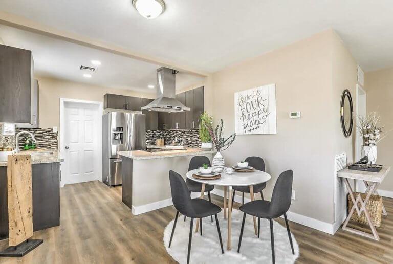 Luxury Condo small kitchen remodel