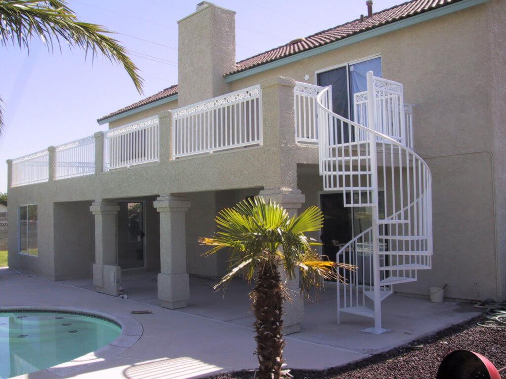 Las Vegas Remodel Contractor Stucco Balcony
