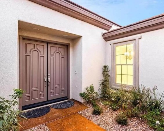 exterior painting entryway remodel