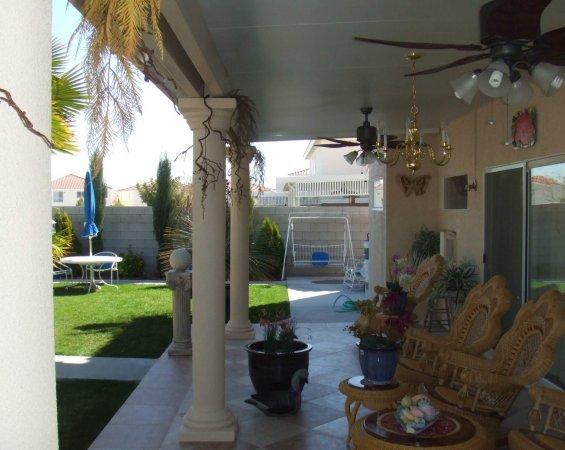 Patio Cover Stucco Las Vegas Remodel Contractor